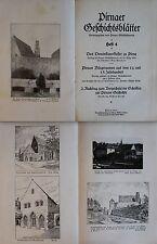 Pirnaer Geschichtsverein Geschichtsblätter 1934 Geschichte Dominikanerkloster xz