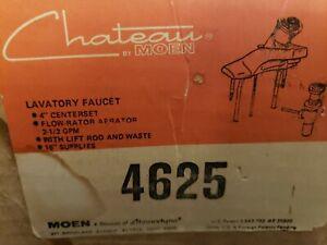 MOEN 4625 CHATEAU CHROME- KNOB Single Handle Faucet 4625