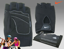 New NIKE ladies FUNDAMENTAL GLOVES FitDry Performance Fitness GYM Cycle Bike L