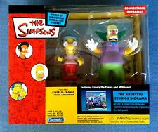 THE KRUSTYLU STUDIOS DIORAMA KRUSTY THE CLOWN THE SIMPSONS WOS PLAYMATES FIGURE