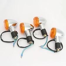 4x Amber Turn Signals Light For Kawasaki VN Vulcan Classic Drifter 800