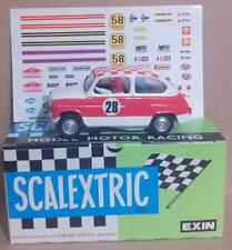C-31 Seat 600 T.C. Rallie Exin Triang Scalextric SCX Ninco SRC TeamSlot Reprotec