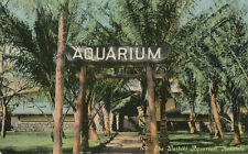 Honolulu HI * Waikiki Aquarium  1910