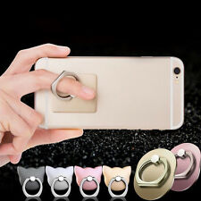 360° Hook Universal Finger Ring Sticky Mount Stand Holder For Cell Phone Tablet