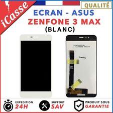 """ECRAN COMPLET POUR ASUS ZENFONE 3 MAX ZC520TL X008D 5.2"""" VITRE TACTILE LCD BLANC"""