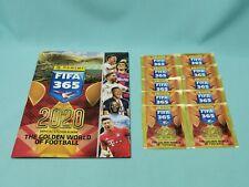 Panini Fifa 365 2020 Sticker Sammelalbum +  10 Tüten / 50 Sticker Album
