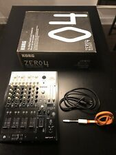 Korg ZERO4 DJ Mixer - Digital Audio Interface - Traktor Controller