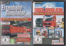 Truck Simulatore complete edition raccolta + Ferrovia simulatore 2012 Oro PC