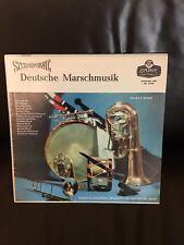 vinyl records - Deutsche Marschmusik - VG Condition.