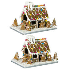 20PC Avanti Gingerbread House Cookies Cutter Baking Tool Mold w/ Cardboard Base