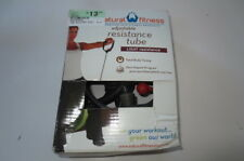 Natural Fitness Resistance Tube in Light resistance, new in box, free ship