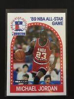 💥MICHAEL JORDAN 1989 NBA HOOPS 1989 NBA ALL STAR GAME# 21 HOF Rare Last Dance💥