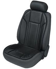 Ravenna Kunstleder Universal Auto Sitzauflage schwarz, PKW Schonbezug