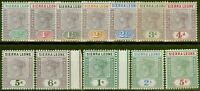 Sierra Leone 1896-97 Set 12 To 5s SG41-52 Fin & Frais MTD Excellent État (1s