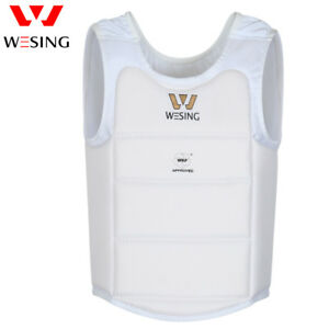 Wesing Professional Karate Men Chest Protector Karate Chest Guard WKF approved