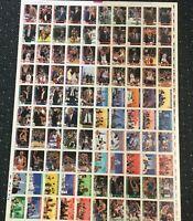 1992-93 Hoops 100 Card Michael Jordan Chicago Bulls Factory Uncut Sheet Rare! *8