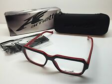 Wholesale Arnette Bitrate Gloss Black & Red Frames 7084-0153 Eyeglasses 1162/53