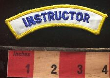 INSTRUCTOR Tab Patch ~ Teacher / Trainer 73X4