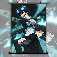 60x90cm Blue Exorcist Okumura Yukio Rin HD Print Wall Poster Scroll Room Decor