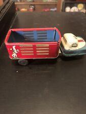 Vintage Tin Stock Cowboy Van