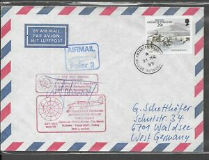 BRITISH ANTARCTIC TERRITORY 1989 POLAR 2
