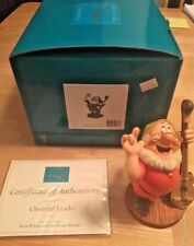 WDCC Walt Disney Classic Collection Snow White Cheerful Leader W/box & COA