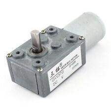 12V 0.1A 0.6RPM 25kg.cm Low Speed High-torque Reducer Gearbox DC Worm Gear Motor