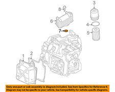 VW VOLKSWAGEN OEM 07-16 Eos Transaxle Parts-Oil Cooler Seal N91027901