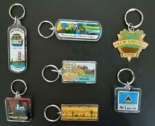 Vintage Travel Key chains (7 Assorted To Choose From)