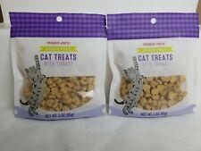 2 Trader Joe's Cat Treats with Turkey Grain Free