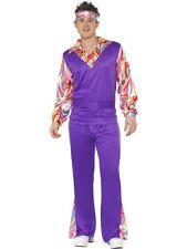 Hippy Costume Uomo Smiffy`s Hippie Man Costume di Carnevale carnevale nuovo
