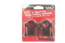 "Simmons 1"" Matte See Thru Rings #49176"