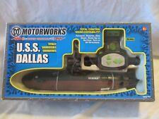 MOTORWORKS U.S.S. DALLAS RADIO CONTROL SUBMERSIBLE SUBMARINE NIB