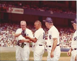 Hank Bauer & Moose Skowron Original Vintage New York Yankee Photo