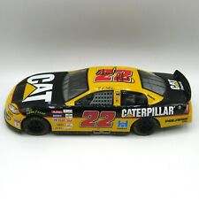 AUTOGRAPHED Ward Burton #22 CAT Racing Champions Diecast 1:24 Caterpillar