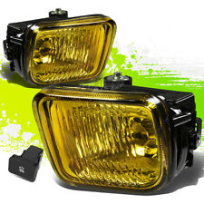 YELLOW TINT OE FOG LIGHTS/LAMPS PAIR+SWITCH FOR 96-98 CIVIC EJ6/EJ7/EJ8/EK/EM1