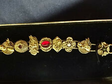 Warner Brother Bracelet Jewelry Sylvester The Cat, Bugs Bunny, And Tweety Bird.