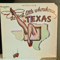 "BEST LITTLE WHOREHOUSE IN TEXAS Soundtrack (Orig Cast) 12"" Vinyl Record LP - EX"