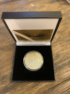XRP Ripple Gold Plated Coin W/ Gift Box Collectible Coin 2020 New US Mint