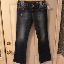 Miss Me Low Rise Stretch Boot Cut Jeans *JP5002-40R* sz 30 (30x 30)
