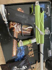 Azodin Blitz - Green Paintball Gun
