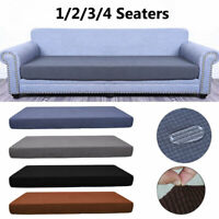 Stretch Chair Couch Seat Cushion Cover Sofa seat Slipcover Furniture Protect