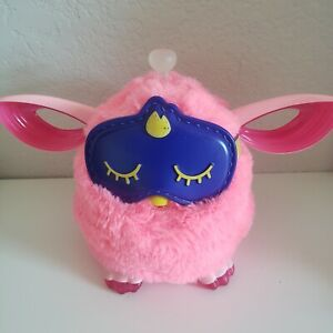 Hasbro Furby Connect Friend Pink w/Sleeping Mask Tested Working 2016 Bluetooth