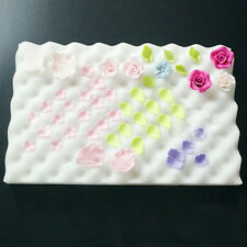 2pcs/set Fondant Pastry Foam Pad For Drying Cake Sugarcraft Leaves And Flowers