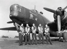 WW2  Photo WWII RAAF Wellington Crew 466 Sqn UK 1944 England World War Two /5249