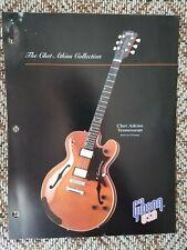 1992 Gibson Guitars Dealer Info Sheet Chet Atkins Tennessean Case Candy