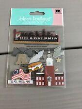 Philadelphia Declaration Of Independence Liberty Bell Penn Jolee's 3D Stickers
