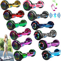 "6.5"" Bluetooth Speaker Electric Hoverboard Balancing LED Scooter UL 2-Wheel Bag"