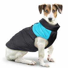 Cold Weather Dog Coat Warm Jacket Clothes Vest for Small Medium Large Dogs - XS