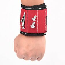 Magnetic Wristband with Embedded Magnets for Holding Screws/Nails/bolts/gadget